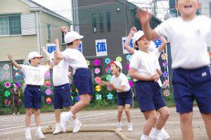 東星学園 大矢正則校長 清瀬 私立 小学校 体育祭(2)