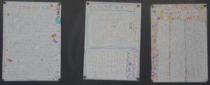 東星学園 校長・大矢正則 カトリック ミッション 男女 6年生 宗教 「フロジャク神父様の壁新聞作り」(5)