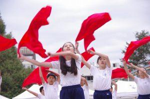 東星学園 校長 大矢正則 カトリック ミッション 男女 体育祭(9)