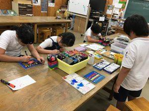 東星学園 校長 大矢正則 清瀬 私立 小学校 バザーの準備(4)