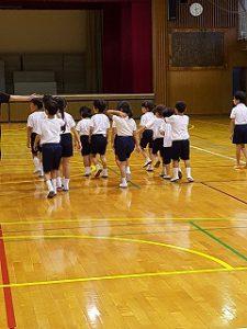 東星学園 校長・大矢正則 清瀬 私立 小学校 体育祭 練習(低学年)(2)
