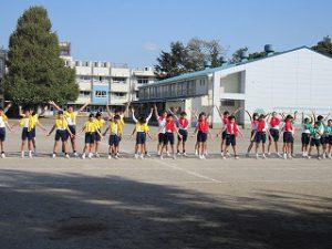 東星学園 校長 大矢正則 カトリック ミッション 男女 体育祭 布体操(5)