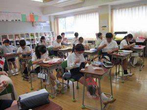 東星学園 校長・大矢正則 清瀬 私立 小学校 6年生(2)