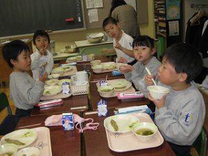 私立 清瀬 共学 東星学園 大矢正則校長 11月の給食(6)