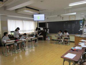 東星学園 校長・大矢正則 清瀬 私立 小学校 5年生(8)