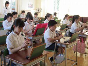 東星学園 大矢正則校長 カトリック ミッション 男女 5年生(3)