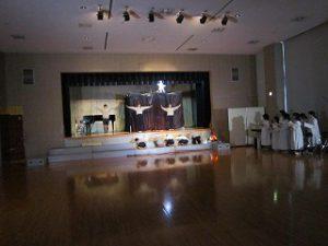 東星学園 大矢正則校長 カトリック ミッション 男女 5年生 聖劇練習(3)