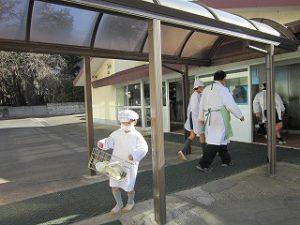 東星学園 校長 大矢正則 カトリック ミッション 男女 1月の給食(1)