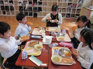 東星学園 大矢正則校長 カトリック ミッション 男女 1月の給食(9)