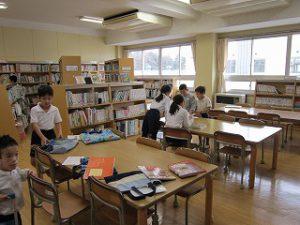 東星学園 校長 大矢正則 清瀬 私立 小学校 1年生 新年を迎えて(4)