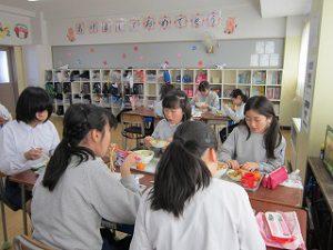 東星学園 校長・大矢正則 カトリック ミッション 男女 1月の給食(5)