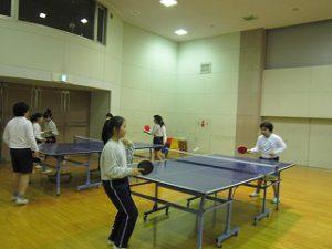 東星学園 大矢正則校長 清瀬 私立 小学校 中高卓球部との交流練習(2)