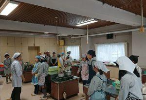 東星学園 校長 大矢正則 カトリック ミッション 男女 5年生調理実習(1)