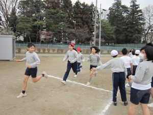 東星学園 校長 大矢正則 清瀬 私立 小学校 Run Run Run Day(2)