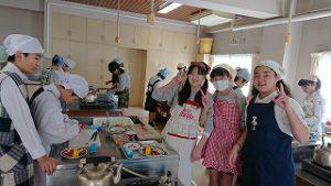 東星学園 校長 大矢正則 カトリック ミッション 男女 6年生 調理実習(1)