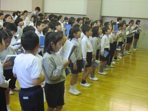 東星学園 校長・大矢正則 清瀬 私立 小学校 まってるよ!1年生(2)