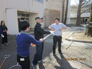 東星学園 大矢正則校長 カトリック ミッション 男女 職員防犯訓練(5)