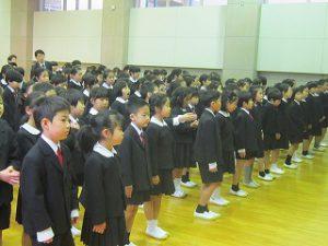 東星学園 校長・大矢正則 清瀬 私立 小学校 2019年度 前期始業式(2)