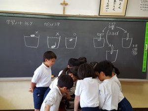 東星学園 校長 大矢正則 カトリック ミッション 男女 3年生 理科(1)