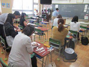 東星学園 大矢正則校長 清瀬 私立 小学校 親子ひこうき教室(6)