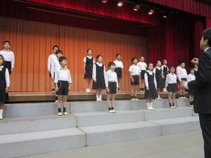 東星学園 校長 大矢正則 清瀬 私立 小学校 第50回 ヨゼフ祭(4)
