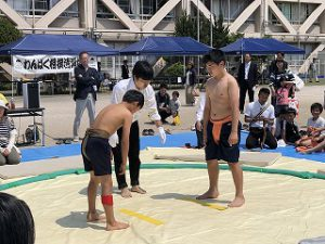 東星学園 大矢正則校長 カトリック ミッション 男女 第38回 わんぱく相撲清瀬場所(3)