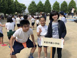 東星学園 校長・大矢正則 清瀬 私立 小学校 第38回 わんぱく相撲清瀬場所(2)