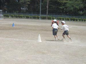 東星学園 大矢正則校長 清瀬 私立 小学校 運動会合同練習(4)