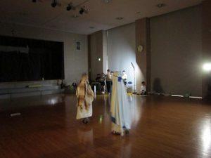 東星学園 大矢正則校長 清瀬 私立 小学校 5年生 聖劇練習(6)
