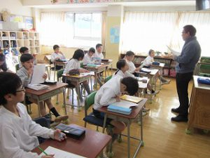 東星学園 大矢正則校長 カトリック ミッション 男女 3年生(3)
