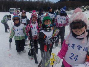 東星学園 校長・大矢正則 カトリック ミッション 男女 湯の丸 スキー教室(7)