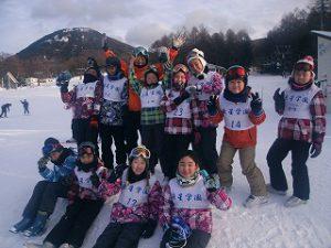 東星学園 校長 大矢正則 清瀬 私立 小学校 湯の丸 スキー教室(2)