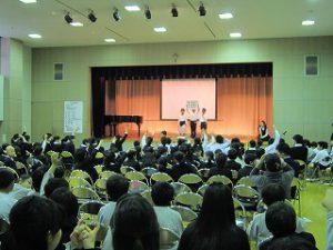 東星学園 校長・大矢正則 清瀬 私立 小学校 3月7日(木)6年生を送る会(2)