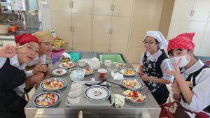東星学園 大矢正則校長 清瀬 私立 小学校 6年生 調理実習(6)