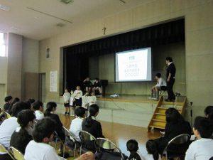 東星学園 大矢正則校長 カトリック ミッション 男女 3月7日(木)6年生を送る会(3)