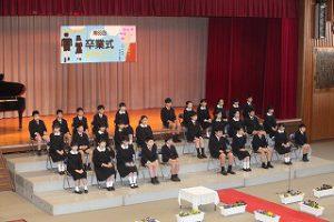 東星学園 校長 大矢正則 カトリック ミッション 男女 『第83回 卒業式』(1)