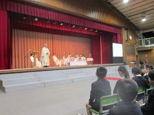 東星学園 校長・大矢正則 カトリック ミッション 男女 第50回 ヨゼフ祭(9)