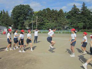 東星学園 大矢正則校長 カトリック ミッション 男女 運動会合同練習(7)
