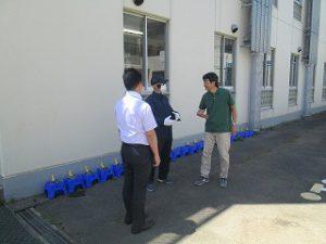 東星学園 校長 大矢正則 カトリック ミッション 男女 防犯訓練(1)