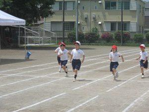東星学園 大矢正則校長 カトリック ミッション 男女 運動会合同練習(1)