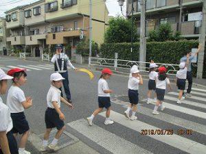 東星学園 校長大矢正則「交通安全教室」(5) カトリック ミッション 男女