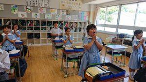東星学園 校長 大矢正則 カトリック ミッション 男女 3年生(1)