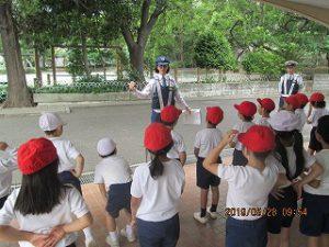 東星学園 校長大矢正則「交通安全教室」(2) 清瀬 私立 小学校