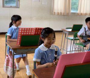 東星学園 校長・大矢正則 カトリック ミッション 男女 3年生(5)