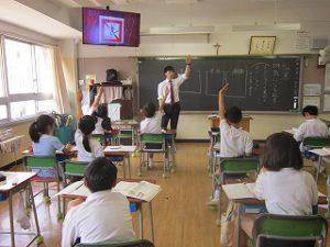 東星学園 大矢正則校長 清瀬 私立 小学校 3年生(6)