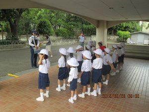 東星学園 校長・大矢正則「交通安全教室」(1) カトリック ミッション 男女