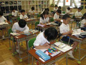 東星学園 校長・大矢正則 清瀬 私立 小学校 1年生 算数(2)