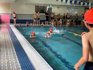 東星学園 校長 大矢正則 カトリック ミッション 男女 水泳授業が終わりました。(1)