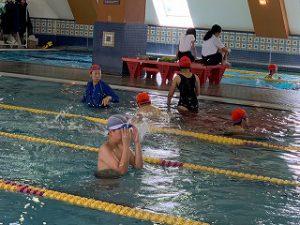 東星学園 校長・大矢正則 清瀬 私立 小学校 水泳授業が終わりました。(2)