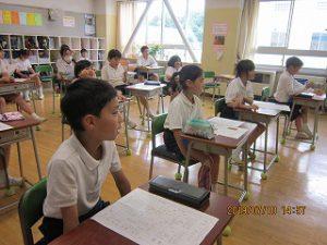 東星学園 大矢正則校長 カトリック ミッション 男女 夏期学校の事前学習(3)